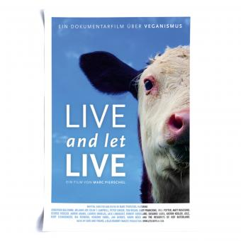 Live and Let Live - A2 Poster