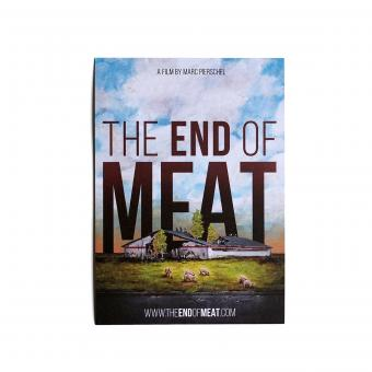 The End of Meat - Postkarte